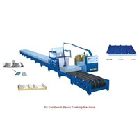 Sandwich panel/PU Foaming Machine Line (CX-PU200)