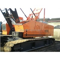 Supply used 50T IHI ,HITACHI,COBECLO CRAWLER CRANE