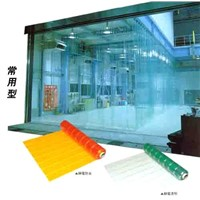 Transparent soft portiere