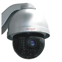 H.264 Ir High Speed IP Dome Camera (IP Speed Dome)
