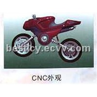 rapid prototype of cnc motorcycle