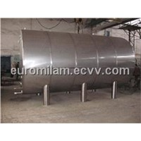 Tank for liquid food substance