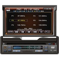 "7"" car dvd built-in GPS, bluetooth"