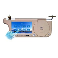 7inch fully car sunvisor DVD player