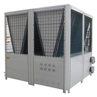 Air to water modular chiller