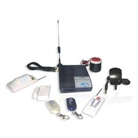 Burglar Alarm System with Remote Monitoring and SMS Function