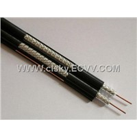 COAXIAL CABLE RG6 DUAL WITH MESSENGER
