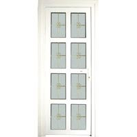 upvc Casement door(France type)with brickmould