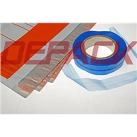 Central glue sealing tape