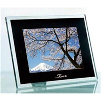 DPF1040-C  10.4 inch  white acrylic  digital photo frame