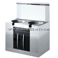 Environmental-friendly and energy saving kitchen stove