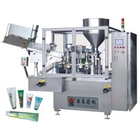 GF-400L(F) Automatic Tube Fill and Seal Machine