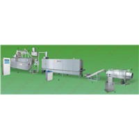 Grain snacks processing line