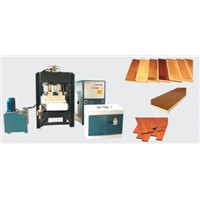 H-F Solid Wood and Composite Floor Forming Machine