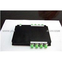 High lsolation Single Mode Fiber Wavelength Division Multiplexers