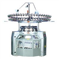 High speed knitting machine