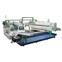 Horizontal Double Side Glass Edging Machine