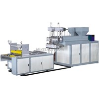JDSJ-50*2 double layer stretch film making machine