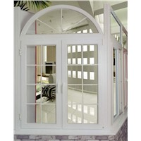PVC- side hung arc window