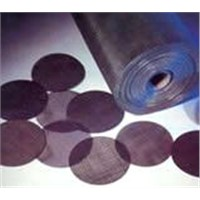 Plain steel wire cloth(black wire cloth)