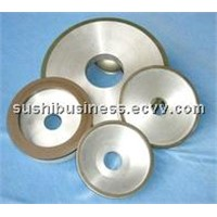 Resin bond diamond and CBN grinding wheel