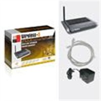 Wireless 802.11G Router + 4Port