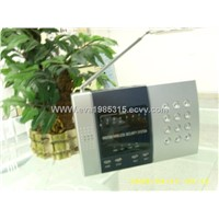 Wireless intruder alarm system