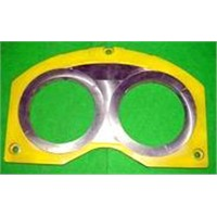 concrete pump wear parts