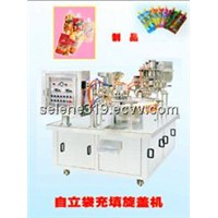 filling and cap rolling machine