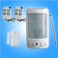 Home Alarm Security System with Door or Window Magnetic Sensor and Infrared Motion Detector