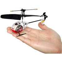 mini rc helicopter weighs only 6 grams!!!