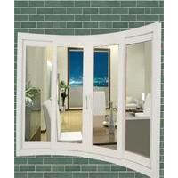 upvc windows & doors---standing curved arc window