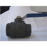 2PC Full Bore Carbon Steel Ball Valve With Female Screw End
