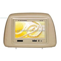 "7"" HEADREST MONITOR WITH PILLOW"