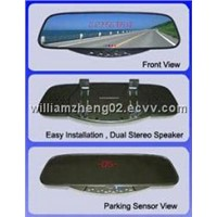 BlueTooth Stereo Handsfree Rearview Mirror