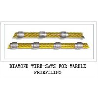 DIAMOND WIRE-SAWS FOR MARBLE PROEFILING