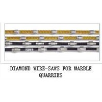 DIAMOND WIRE-SAWS FOR MARBLE QUARRIES