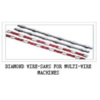 DIAMOND WIRE-SAWS FOR MULTI-WIRE MACHINES