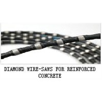 DIAMOND WIRE-SAWS FOR REINFORCED CONCRETE