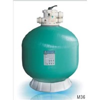 Fiberglass Top-Mount Sand Filters (M SERIES)