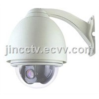 Outdoor IP High Speed Dome Camera / IP Surveillance Camera