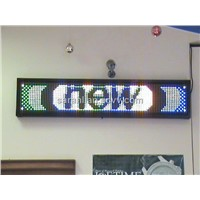 LED full color moving sign