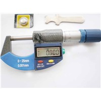 New digital 0-25 outside micrometer