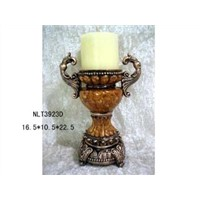 Polyresin Candle Holder