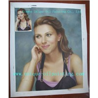 Oil Painting, Portrait Oil Painting, Realism Oil Painting