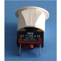 Pushbutton switch SO T125B