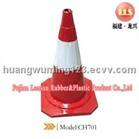 RUBBER TRAFFIC CONE (MODEL:CH701)