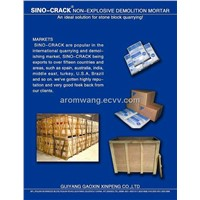 SINO0CRACK non-explosive demolition powder