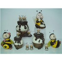Spring bee collections.