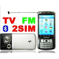 T808 Dual GSM dual standby mobile phone with TV +FM  and PDA function